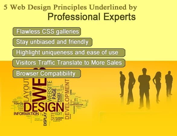 web design by professional experts - 5 Web Design Principles Underlined by Professional Experts
